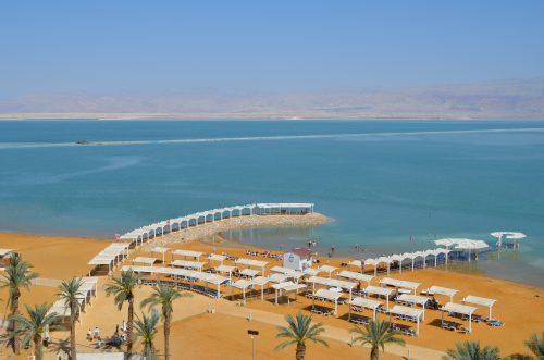 Strand am Toten Meer