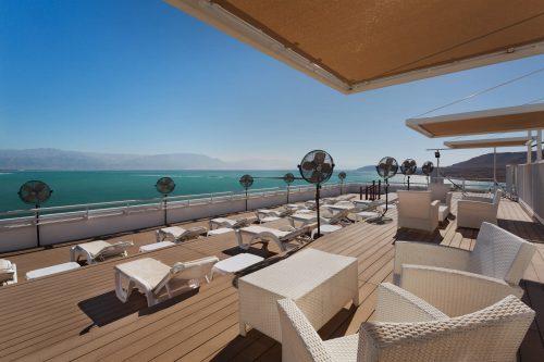 Dachsolarium am Toten Meer