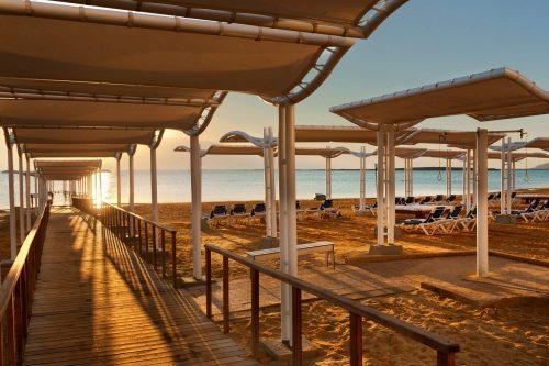 Abendstimmung am Toten Meer